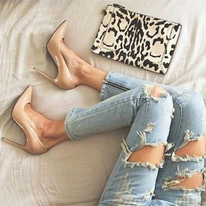 Pointed Toe Pumps Hight Heels Shoes Forever 21